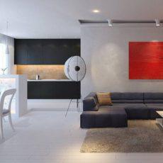 Дизайн квартирыв стиле минимализм