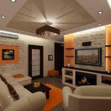 Дизайн трехкомнатной квартиры