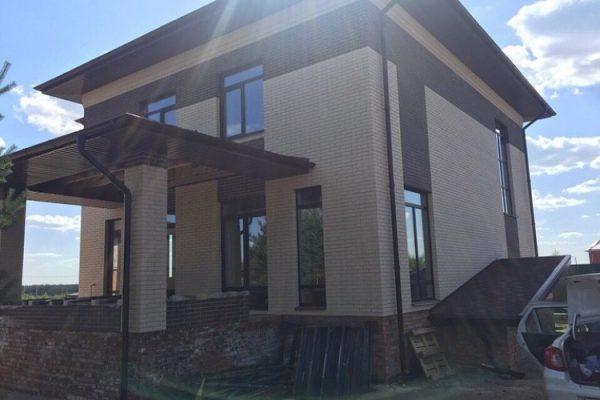 Строительство дома в с. Медовка — фото 1