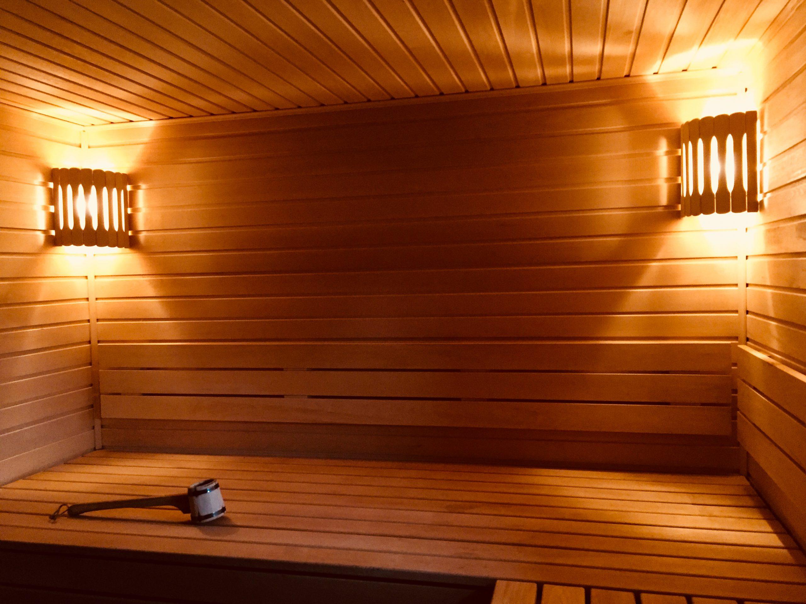 Строительство бани в Рамони — фото 6 (парилка)