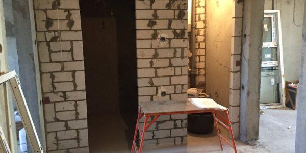 Ремонт квартиры по ул. Владимира Невского — дополнительные розетки и выключатели