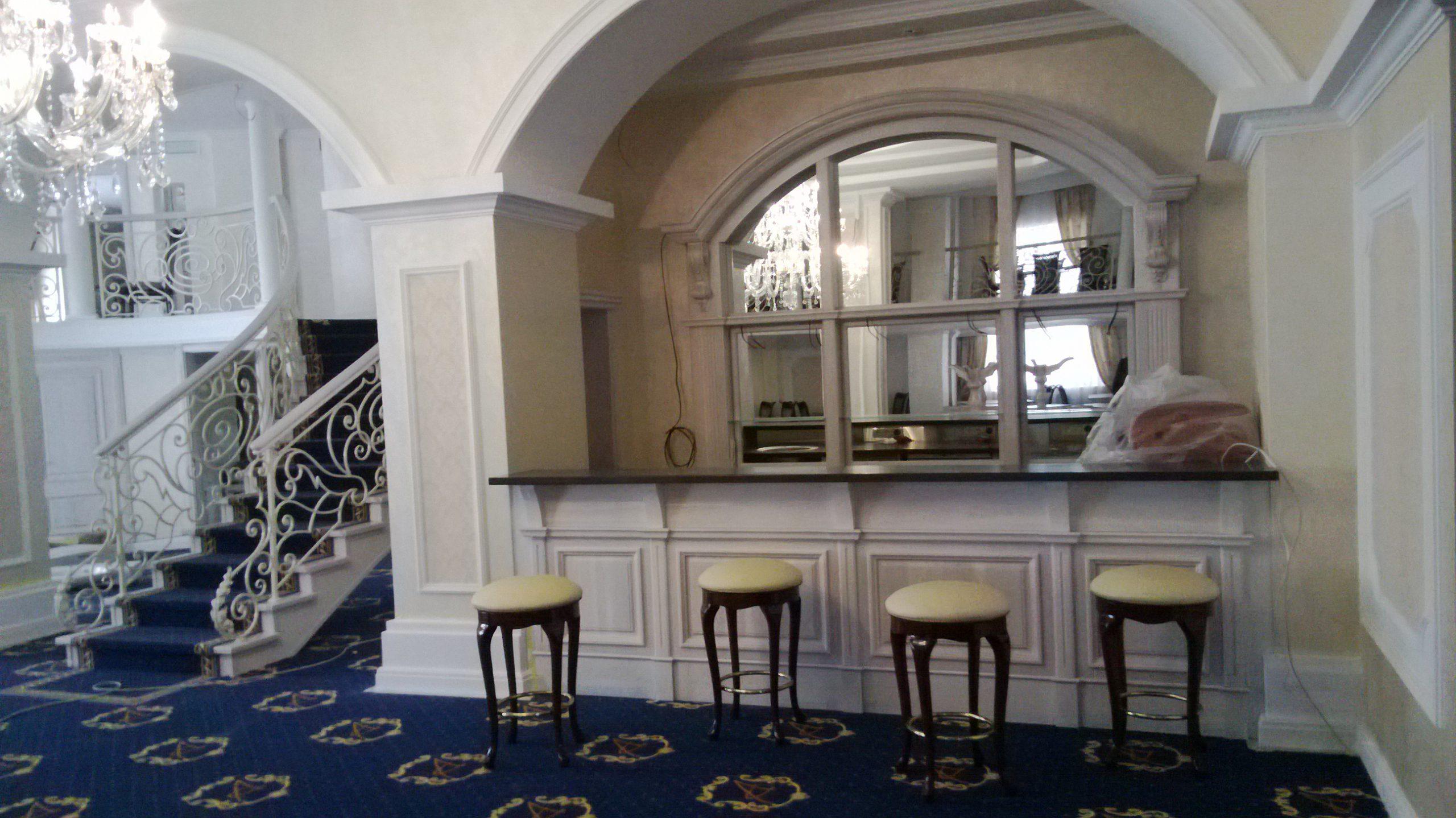 Ресторан «Апраксин» — Банкетный зал (барная стойка)